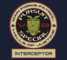 V8 Interceptor Logo by Jonnyfez