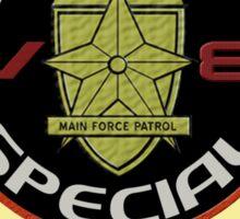 V8 Interceptor Logo Sticker