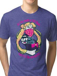 Thug Usagi. Tri-blend T-Shirt