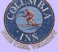 Columbia Inn, Pine Tree Vermont by Robiberg