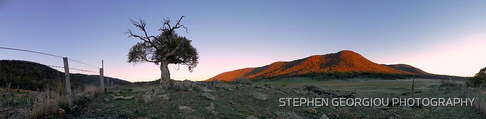 Thredbo sunrise by STEPHEN GEORGIOU PHOTOGRAPHY