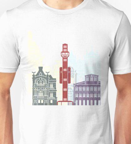 Salvador de Bahia V2 skyline poster Unisex T-Shirt