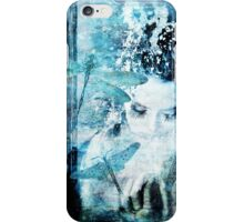 Out of the Door Came Dragonflies iPhone Case/Skin