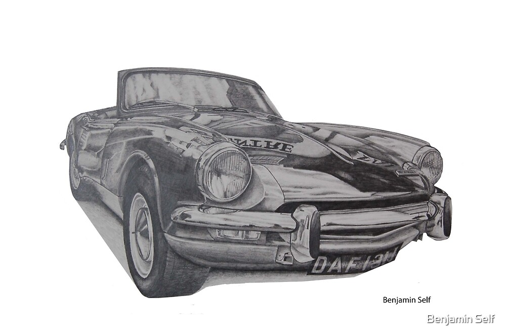 Triumph Spitfire by Benjamin Self