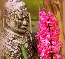Thai Watcher with Holland flower by PauliLangbein
