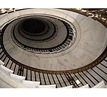 The Oval Staircase Photographic Print