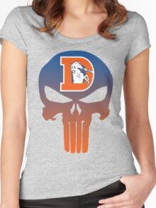 Denver Punishers - Retro Women's Fitted Scoop T-Shirt