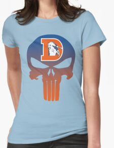 Denver Punishers - Retro Womens Fitted T-Shirt