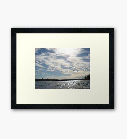 Clouds Framed Print