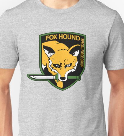 Fox Hound Special Force Group shirt,hoodie ....... Unisex T-Shirt