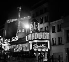 Paris, Moulin Rouge by Andrew Reid Wildman