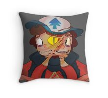 Triangle Trouble Throw Pillow