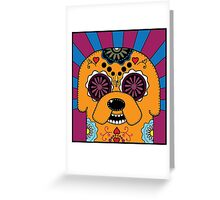 Jake's time of Adventure Greeting Card