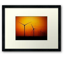 Natural Energy Framed Print