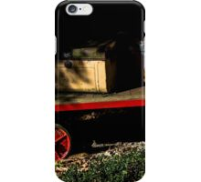 Old cases and trolley iPhone Case/Skin