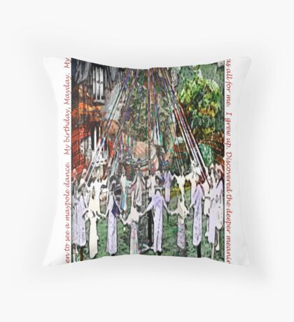 Beltaine Throw Pillow