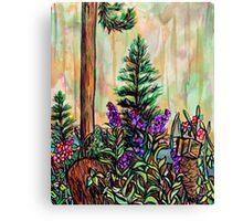 Cabin plein air Canvas Print