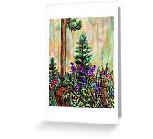 Cabin plein air Greeting Card