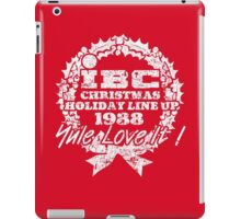 IBC Christmas Line Up- RED iPad Case/Skin