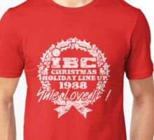 IBC Christmas Line Up- RED Unisex T-Shirt