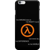 G MAN iPhone Case/Skin