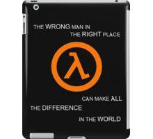 G MAN iPad Case/Skin