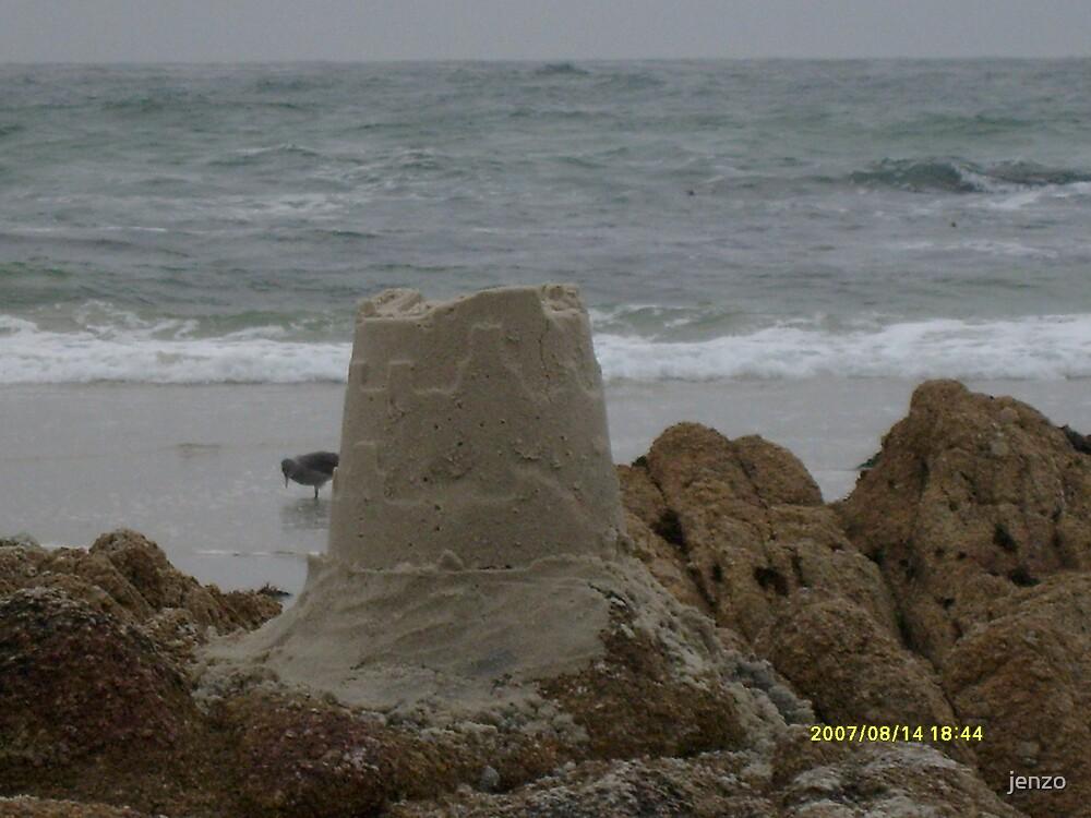 sandcastle by jenzo