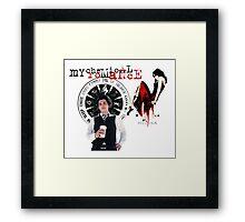 Gerard- My Chemical Romance Framed Print