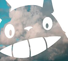 Troll in the Sky - My Neighborn Totoro by CanisPicta