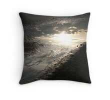 Reflection of a Storm Throw Pillow