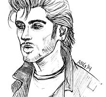 Greaser Zayn by ashleyrguillory