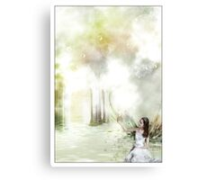 the secret place Canvas Print