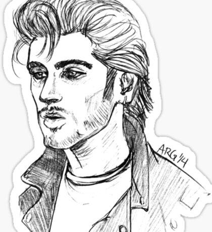 Greaser Zayn Sticker