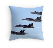 FA-18 Hornets Throw Pillow