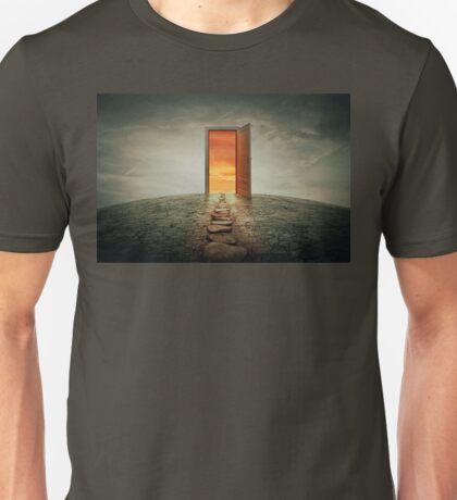 teleportation door Unisex T-Shirt