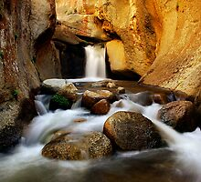 Buttermilks Waterfall by Nolan Nitschke