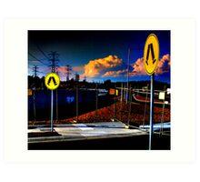 Highpass Walkway Art Print
