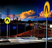 Highpass Walkway by Bruce  Watson