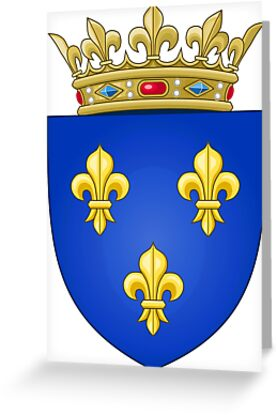 Royal French Coat of Arms, 1376–1515 by PattyG4Life