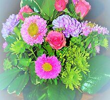Flower aura by ♥⊱ B. Randi Bailey