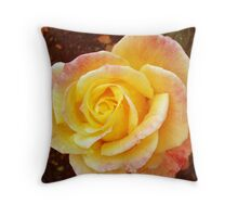 Perfect Peach  Throw Pillow