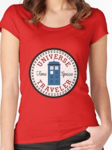 Converse Doctor Who Women's Fitted Scoop T-Shirt