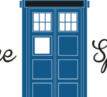 Converse Doctor Who Sticker