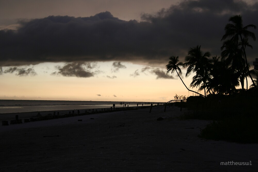 Sunset on Sanibel Island, FL  by matthewsw1
