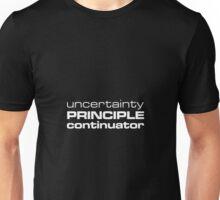 Uncertainty Principle Continuator Unisex T-Shirt