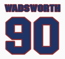 National football player Andre Wadsworth jersey 90 by imsport