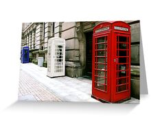 Talking for Britain Greeting Card