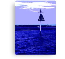 Boat Marker  Canvas Print