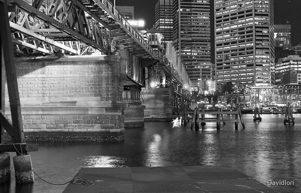 Darling Harbour Pyrmont Bridge by DavidIori