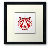 Assassin (red) Framed Print